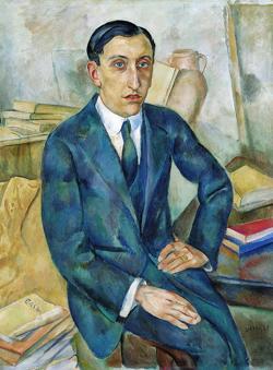 «Retrato de Josep M. Albiñana», de Joaquín Sunyer