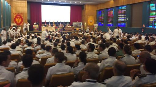 Una imagen del congreso de Sanidad Militar