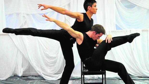 Escena de «Animales nocturnos» de Juan Mayorga, representada por el ballet Las Artes