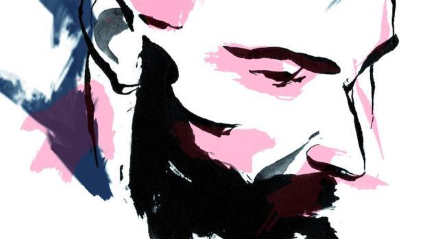Autorretrato de Fidel Martínez, autor de «Fuga de la muerte»