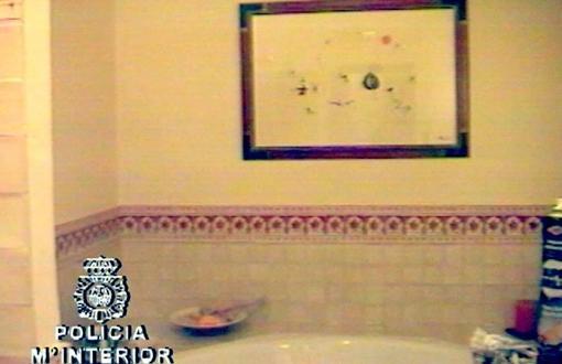 El Miró que Roca tenía colgado en el baño