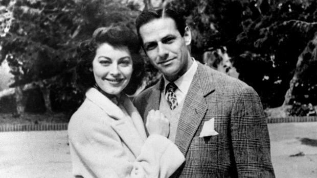 Ava Gardnner y Mario Cabré
