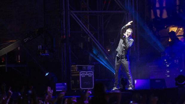 El grupo Muse actuando en Benicasim