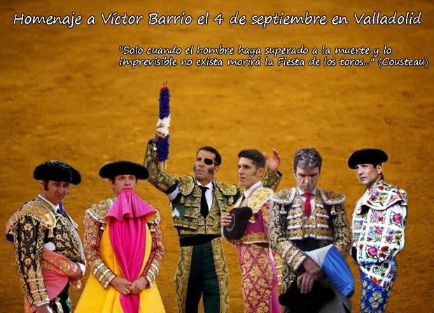 Morante, El Juli, Padilla, Talavante, José Tomás y Manzanares rinden tributo a Víctor Barrio