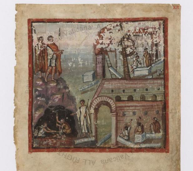 Manuscrito de la Eneida digitalizado