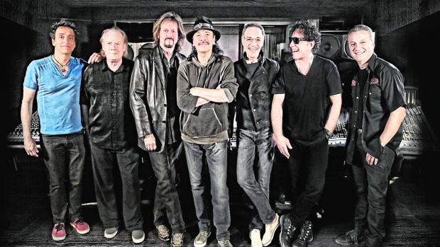 Santana reunido con su grupo después de 45 años