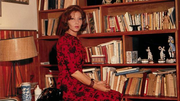 La escritora brasileña Clarice Lispector
