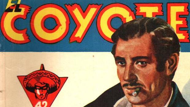 El «padre» del Coyote (en la imagen), José Mallorquí, también escribió terror