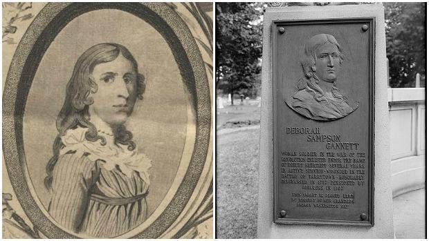 Deborah Sampson, la mujer que combatió en la Guerra de Independencia