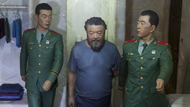 La obra de Ai WeiWei en Cuenca, titulada «S.A.C.R.E.D.», evoca sus 81 días de cautiverio