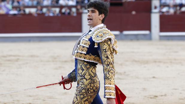 López Simón en Las Ventas