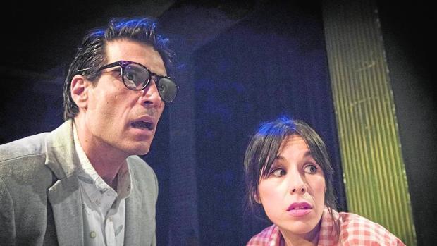 Escena de la representación teatral «Satisfaction»