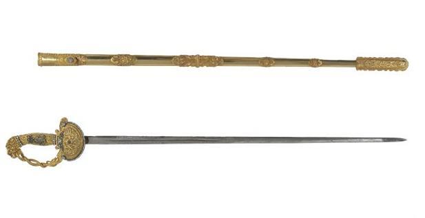 La espada del expresidente chileno Manuel Bulnes