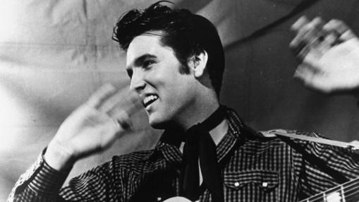 Elvis, en 1950