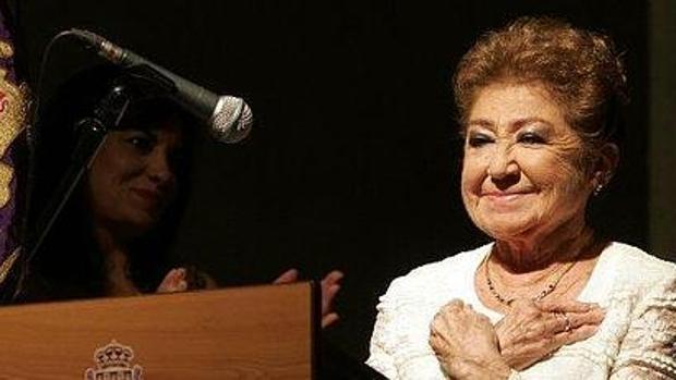 La cantaora Rosario Lopez