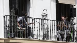 Quejíos desde los balcones de Pamplona