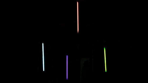 Instalación lumínica «Sputtering»