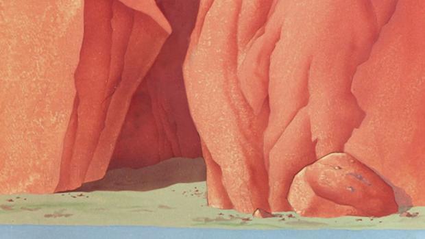 Uno de los dibujos de la serie «Hábita(t)cion», lo próximo de M. Á. Fúnez