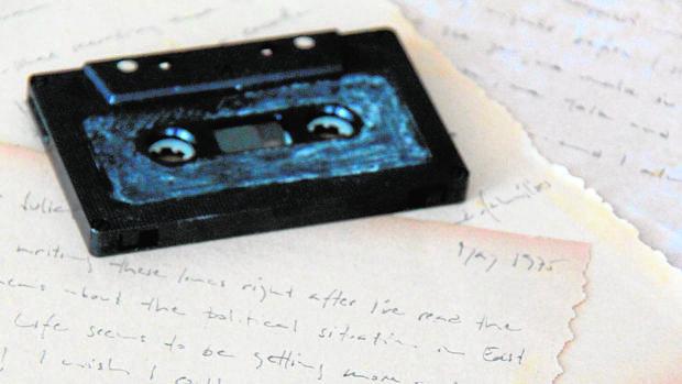El cassete y las cartas de Robert Bans