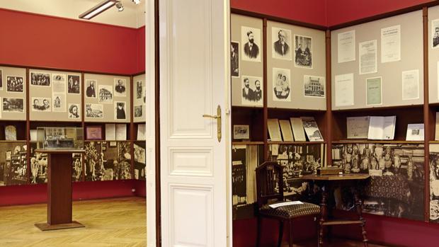Interior del Museo Freud de Viena