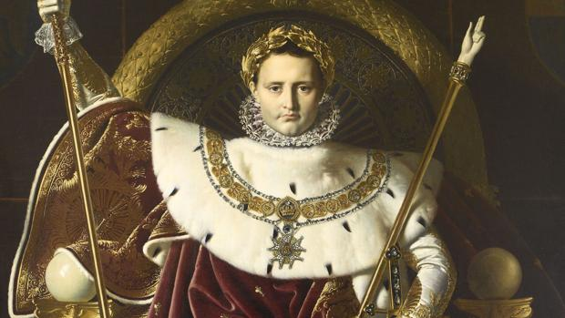 Retrato de Napoleón entronizado de Ingres