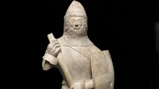 Estatuilla de un caballero, 1375-1425 Inglaterra