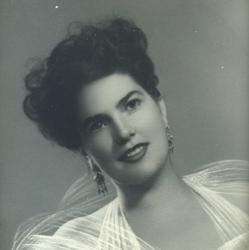 Araceli González, en su juventud