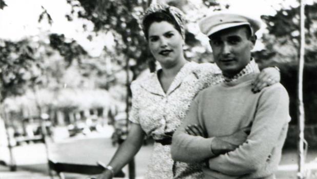 Araceli González y Juan Pujol García, los Garbo