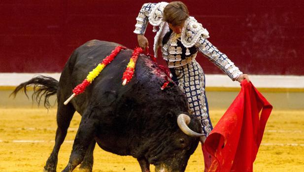 El Juli, con el quinto toro