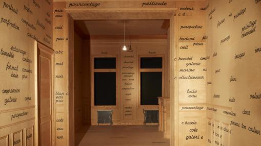 «Salle blanche», de Broodthaers
