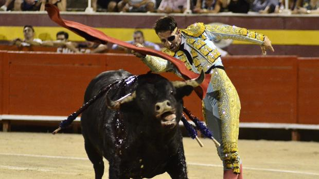 Juan José Padilla, en el coliseo balear