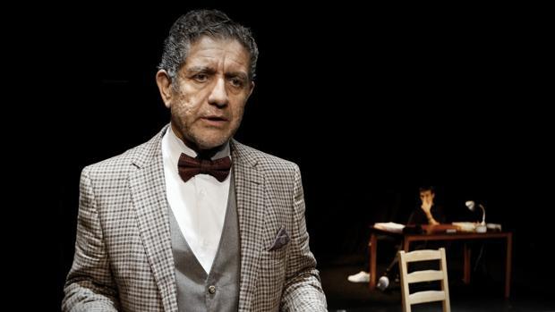 Pedro Casablanc, en una escena de la obra