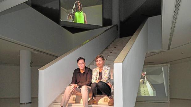 Cabello / Carceller en el «escenario» de su propuesta