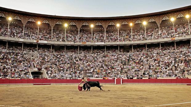 Llenazo en la Monumental de Barcelona en la última corrida de toros celebrada, en septiembre de 2011