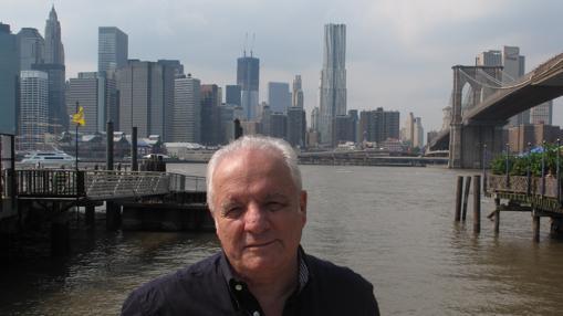 Javier Reverte, en Nueva York