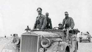 El soldado africano que salvó la vida a Rommel