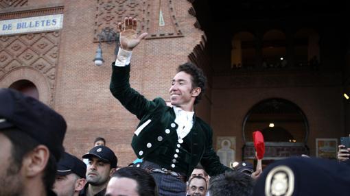 Leonardo Hernández, único con doblete de Puerta Grande