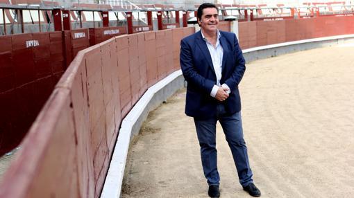 Manuel Martínez Erice, en el ruedo de Las Ventas