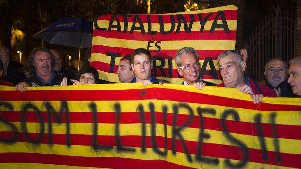 Concentración taurina en Barcelona