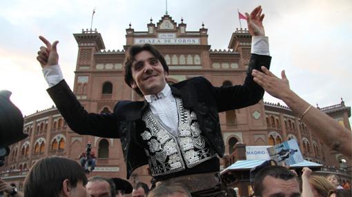 Diego Ventura cuenta con doce salidas en volandas de Las Ventas