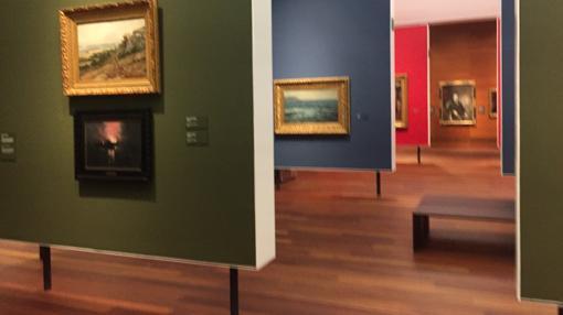 Las salas permiten el encuentro singular con algunas obras