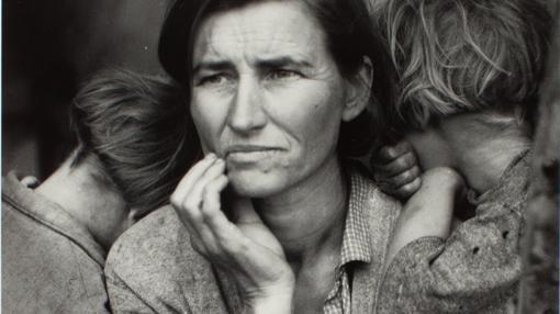 «Madre migrante», de Dorothea Lange