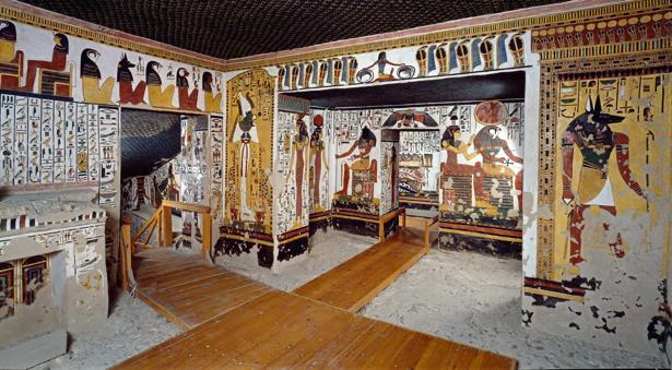 La tumba de Nefertari, una de las mejor conservadas de Egipto