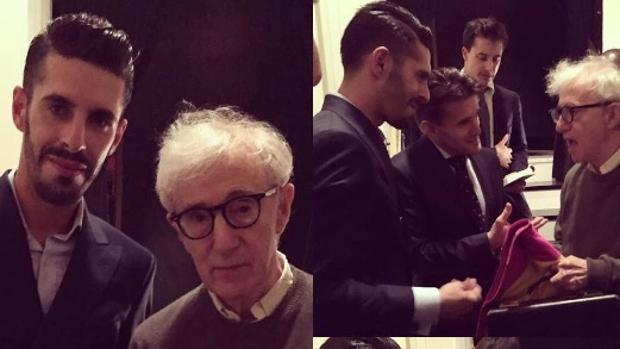 Alejandro Talavante y Woody Allen