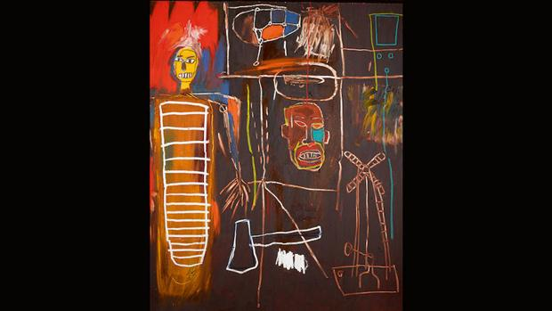 «Air Power», de Basquiat