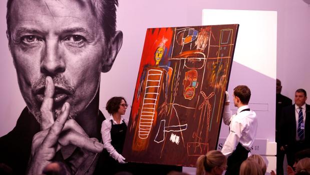 «Air Power», de Basquiat, fue vendido por 8,2 millones de euros