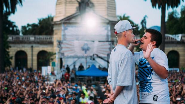 Cultura El argentino DToke frente a Arkano en la Final de 2015 835576bc14c
