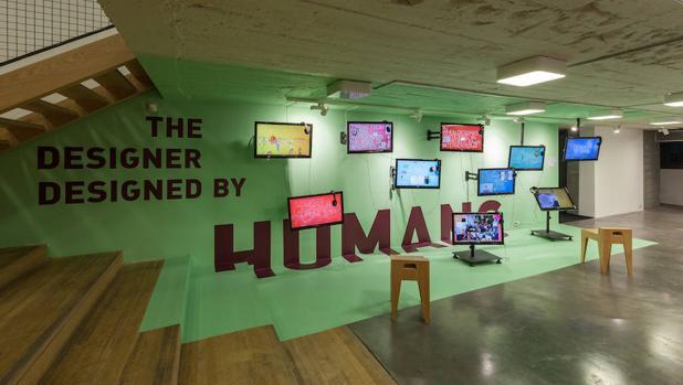 Instalación de Juan Herreros sobre los nuevos roles que la figura del diseñador actual