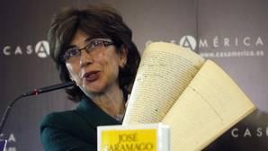 Pilar del Río: «Hay una obra de teatro y varios cuentos inéditos de Saramago»