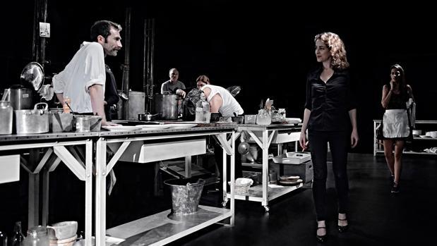 Silvia Abascal, en un momento de «La cocina»